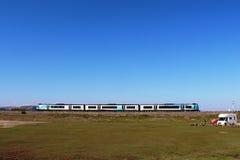 Nouvelle première livrée de train rapide de penninite de transport Photographie stock libre de droits