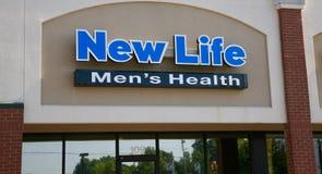 Nouvelle santé du ` s d'hommes de la vie Image libre de droits