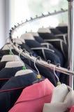Nouvelle spirale de vêtement Image libre de droits