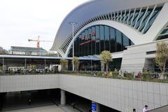 Nouvelle station de train Images libres de droits