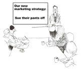 Nouvelle stratégie marketing : Sue Images stock