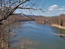 Nouvelle traînée de rivière photos libres de droits