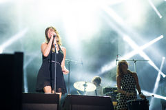 Nouvelle Vague Live Stockfoto