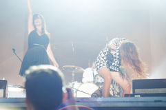 Nouvelle vague live at Bucharest Stock Photography