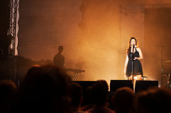 Nouvelle vague on stage Stock Photo