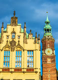 Nouvelle ville hôtel à Wroclaw, Pologne photos libres de droits