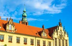 Nouvelle ville hôtel à Wroclaw, Pologne image libre de droits