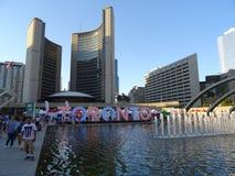 Nouvelle ville hôtel de Toronto Photos stock