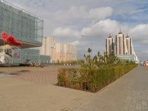 Nouvelle ville - partie laissée image libre de droits