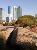 Nouvelle ville - partie laissée photo libre de droits