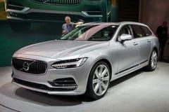 Nouvelle voiture 2017 de Volvo V90 Images libres de droits
