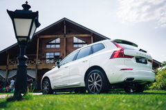 Nouvelle voiture 2018 de Volvo XC60 Photo stock