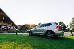 Nouvelle voiture 2018 de Volvo XC60 Photo libre de droits