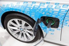 Nouvelle voiture hybride de BMW à l'IAA 2015 Photos stock