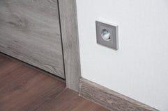 Nouvelles électricités dans le nouveau bâtiment photos stock