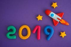 2019 nouvelles années Image libre de droits