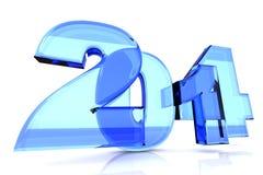 2014 nouvelles années illustration libre de droits