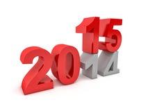 2015 nouvelles années Photos stock