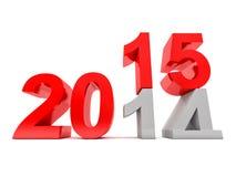 2015 nouvelles années Photo libre de droits