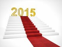 2015 nouvelles années Photographie stock libre de droits