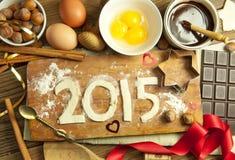 2015 nouvelles années Image stock