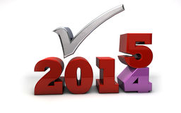 2015 nouvelles années Illustration de Vecteur