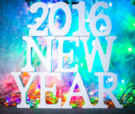 2016 nouvelles années Photo libre de droits