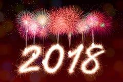 2018 nouvelles années Image libre de droits