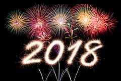 2018 nouvelles années Photos libres de droits