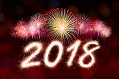 2018 nouvelles années Image stock