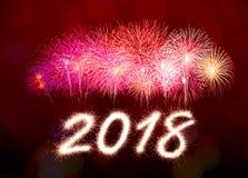 2018 nouvelles années Photo libre de droits