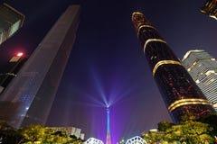 2016 nouvelles années chinoises dans la place de Guangzhou Huacheng Photo libre de droits