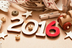 2016 nouvelles années heureuse Photographie stock
