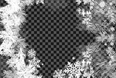 2019 nouvelles années sur le fond givré par glace Couleurs globales Un gradient editable est employé pour le recolor facile Images stock