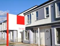 Nouvelles Chambres de construction à vendre Image stock