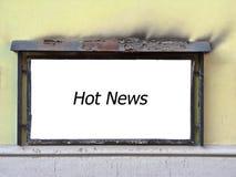 Nouvelles chaudes Photos libres de droits