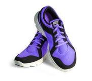 Nouvelles chaussures nike de style Images stock