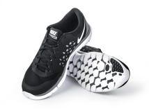 : Nouvelles chaussures nike de style Image libre de droits
