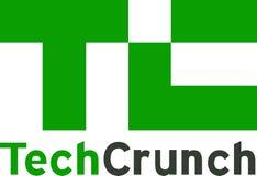 Nouvelles de logo de nouvelles de craquement de technologie illustration libre de droits