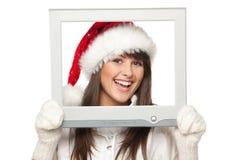 Nouvelles de Noël photo stock