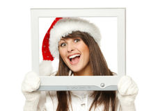 Nouvelles de Noël photographie stock libre de droits