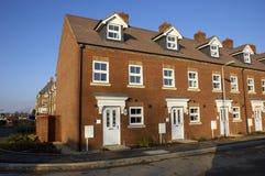 Nouvelles maisons Photo stock