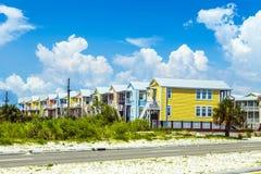 Nouvelles maisons après ouragan Katrina image stock