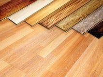 Nouvelles planches de parquet de chêne Photos stock