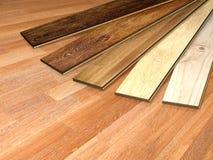 Nouvelles planches de parquet de chêne Image stock