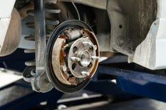 Nouvelles protections de frein Photo stock