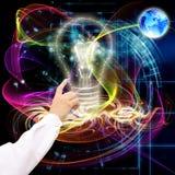 Nouvelles technologies d'Internet Image stock