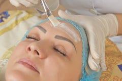 Nouvelles technologies dans la cosmétologie médicale Photo stock