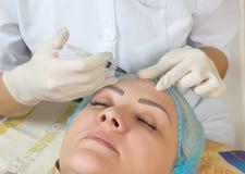 Nouvelles technologies dans la cosmétologie médicale Photos stock