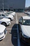 Nouvelles voitures d'audi Image stock